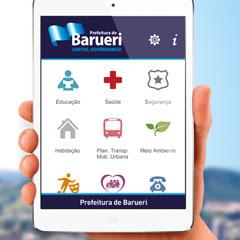 Prefeitura de Barueri - Campanha App Barueri (Outdoor)