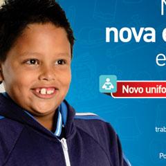 Prefeitura de Barueri - Campanha Educação Novo Uniforme (Jornal)