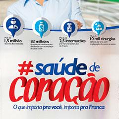 Prefeitura de Franca - Saúde de Coração (Saco de Pão)