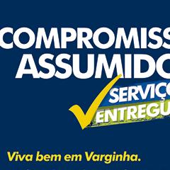 Prefeitura de Varginha - Obras Inauguradas (Jornal)