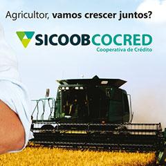 Sicoob Cocred - Anúncio Revista Agrishow