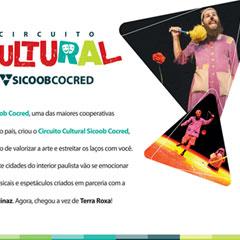 Sicoob Cocred - Convite Circuito Cultural